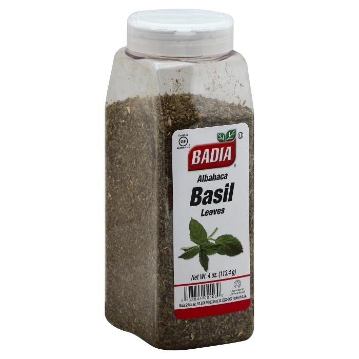 Badia Albahaca Basil Leaves Seasoning 4 oz - image 1 of 1