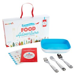 Munchkin Food Adventure Dining Set - Blue