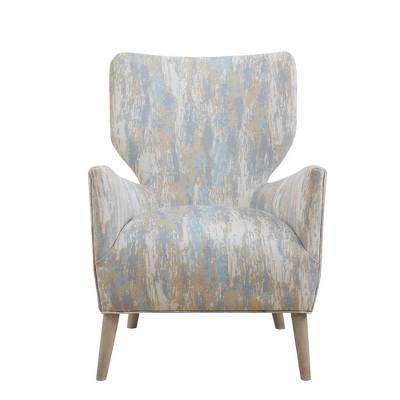 Flynn Accent Chair Blue Multi