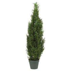 Nearly Natural 4' Cedar Tree Silk Tree (In-door/Out-door)