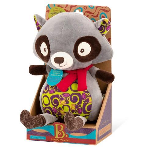 Baby B Talk Back Plush Raccoon Target