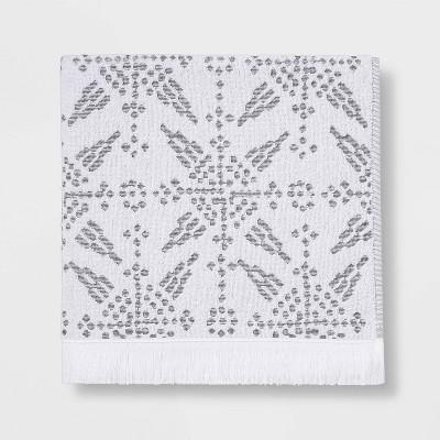 Tile Tufted Bath Towel Gray - Threshold™
