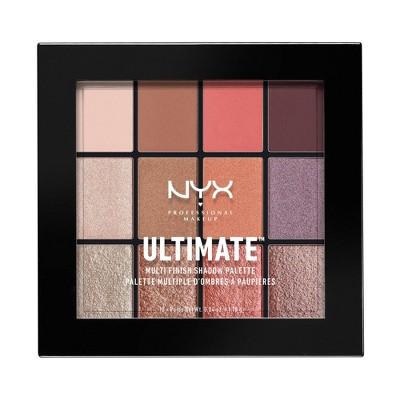 NYX Professional Makeup Ultimate Shadow Palette Sugar Rush - 0.32oz