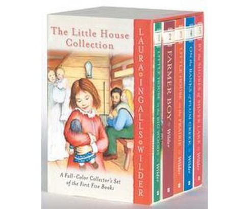 The Little House Collection (Paperback) by Laura Ingalls Wilder - image 1 of 1