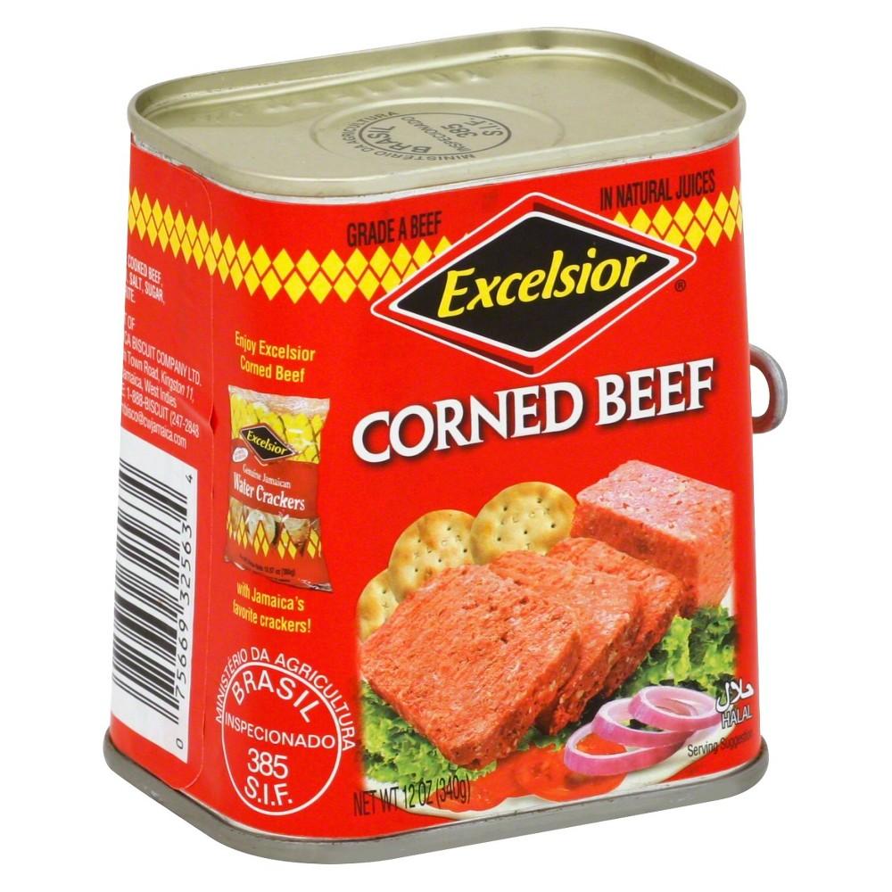 Excelsior Corned Beef 12oz