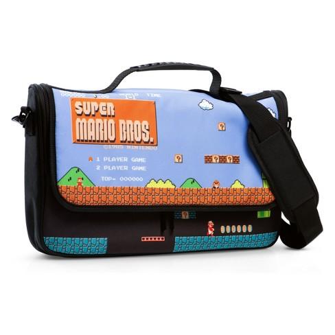 PowerA Messenger Bag For Nintendo Switch - 8-bit Super Mario Bros.   Target cfdef005cc829