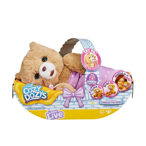 Little Live Cozy Dozys - Cubbles the Bear - image 1 of 4