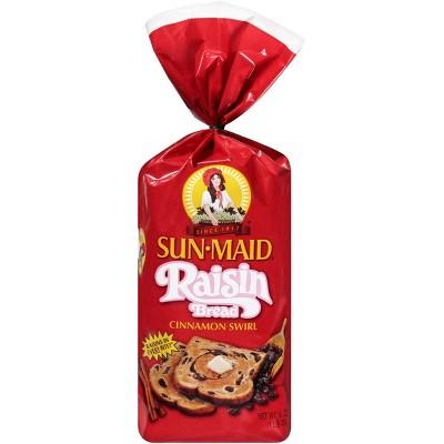 Sunmaid Cinnamon Swirl Raisin Bread - 16oz
