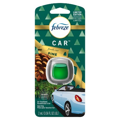Febreze Car Air Freshener - Fresh Cut Pine - 1ct