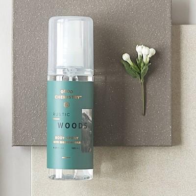Rustic Woods by Good Chemistry Body Mist Unisex Body Spray - 4.25 fl oz