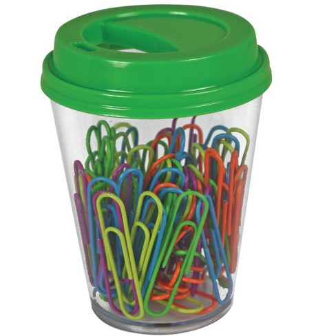 The Pencil Grip Inc Paperclip with Coffee Cup Supply Storage, Assorted, pk of 80 - image 1 of 1