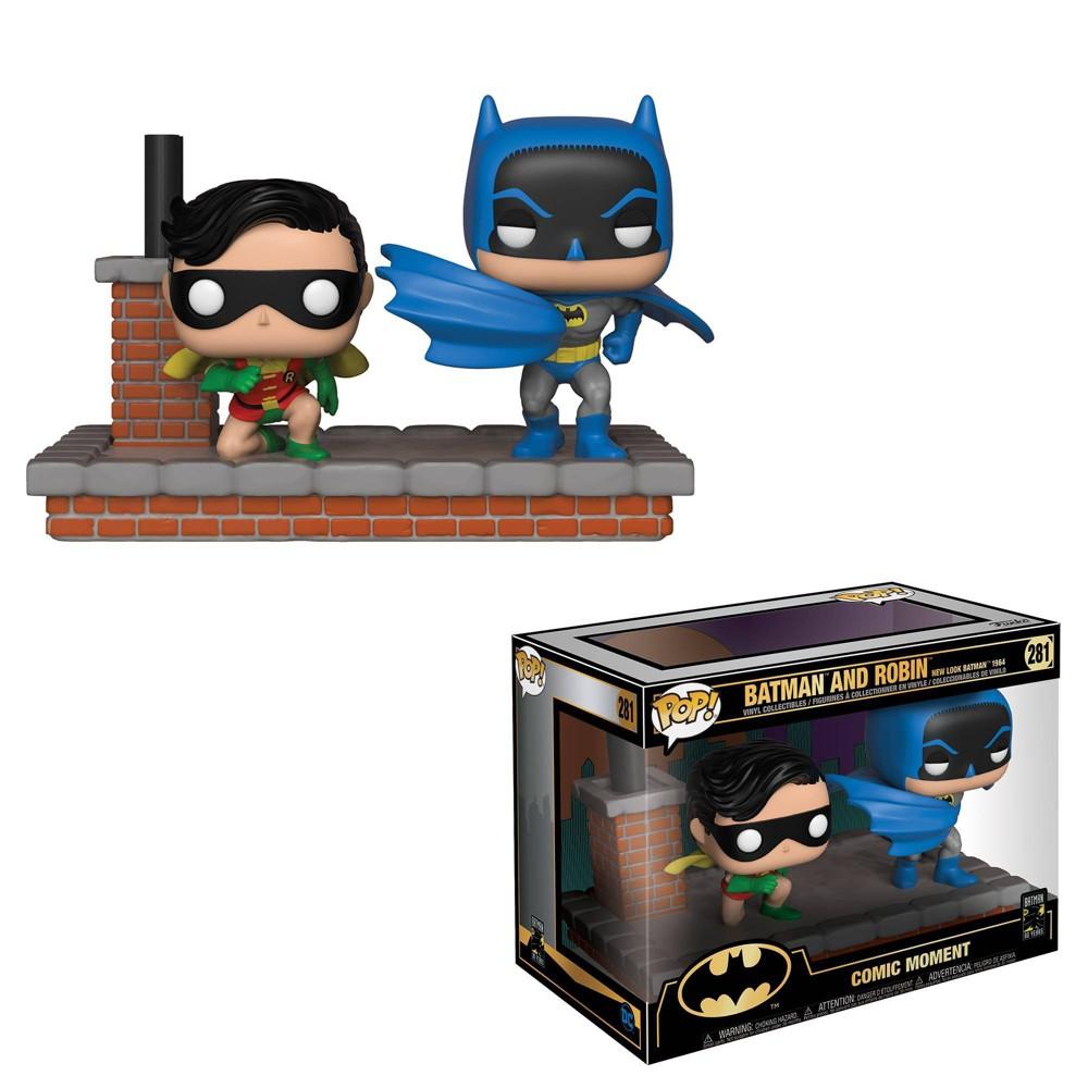 Funko POP Comic Moment DC Comics Batman 80th Batman and Robin New Look Batman 1964