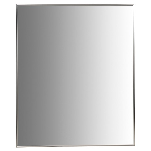24X30 Champagne Aluminum Vanity Mirror, With 3/8 Wide Moulding - Champagne - Nielsen Bainbridge - image 1 of 6
