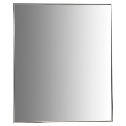 30x36 Champagne Aluminum Vanity Mirror With 3 8 Wide Moulding Nielsen Bainbridge