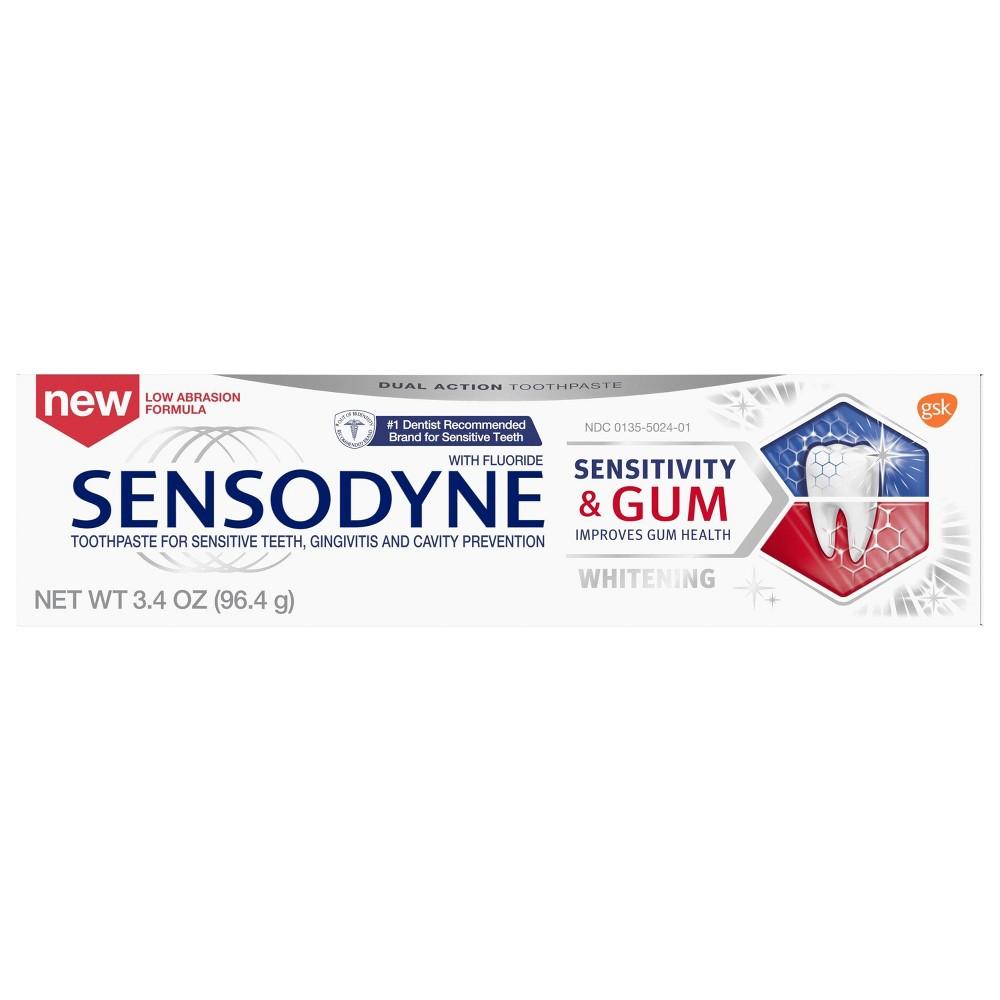 Image of Sensodyne + Gum Whitening Single Pack - 2ct