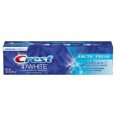 Crest 3D White Arctic Fresh  Teeth Whitening Toothpaste