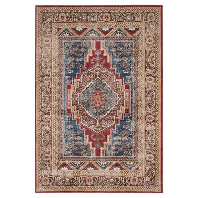 Bijar Rug - Royal/Brown - (8'X10')- Safavieh®