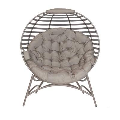 Cozy Ball Chair in Modern Sand - FlowerHouse