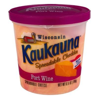 Kaukauna Port Wine Spreadable Cheese - 6.5oz