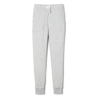 French Toast Boys' Uniform Fleece Jogger Pants - Gray
