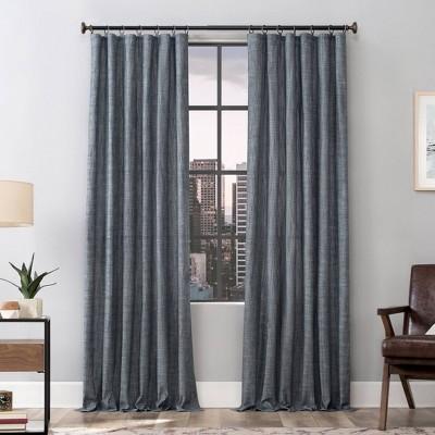 Delton Stonewashed Cotton Semi Sheer Ring Top Curtain Panel - Scott Living