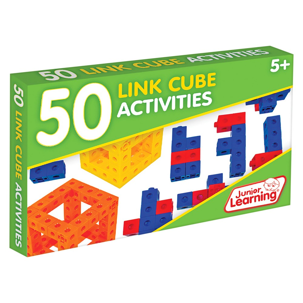 Image of Junior Learning 50 Link Cube Activities Learning Set
