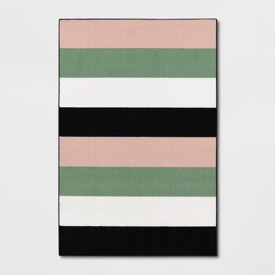 4'x6' Multi Striped Rug - Room Essentials™