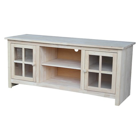 """Franklin TV Stand for TVs up to 60"""" - International Concepts - image 1 of 3"""