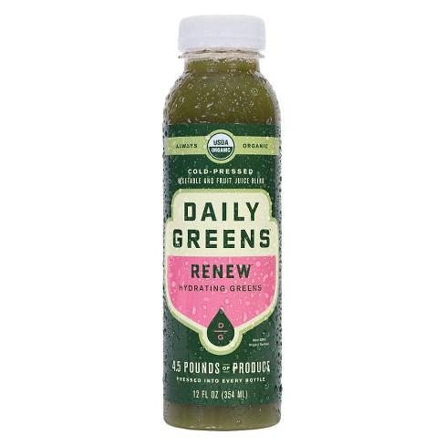 Daily Greens Renew Organic Vegan Cold Pressed Juice - 12 fl oz - image 1 of 1