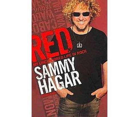 Red (Hardcover) (Sammy Hagar) - image 1 of 1