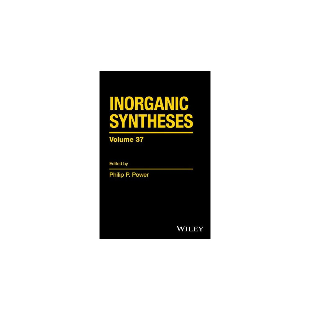 Inorganic Syntheses - (Inorganic Syntheses) (Hardcover)