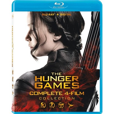Hunger Games 4-Film Collection (Blu-ray)