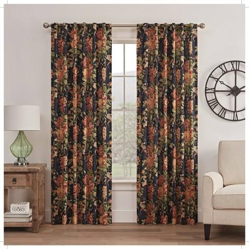 Kensington Bloom Window Curtain - Waverly - image 1 of 4