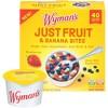 Wyman's Just Fruit Wild Blueberries Strawberries and Banana Bites - 4ct/9.2oz - image 3 of 3