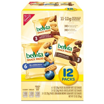 Breakfast & Cereal Bars: belVita Bites