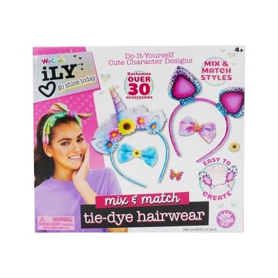 Compound Kings DIY Tie-Dye Cutie Hairwear Beauty Playset