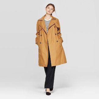 Women's Trench Coat - A New Day™ Khaki XS