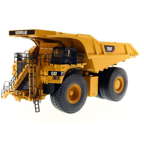 CAT Caterpillar 795F AC Electric Drive Mining Truck with Operator High Line Series 1/50 Diecast Model by Diecast Masters - image 1 of 4
