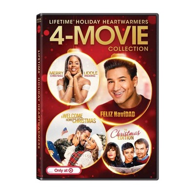 Lifetime Christmas: 4-Movie Collection (Target Exclusive) (DVD)
