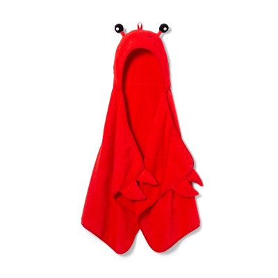 Hooded Bath Towel Red - Pillowfort™