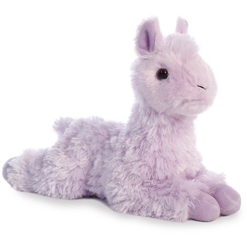 Aurora World Mini Flopsie Purple Llama 8 Stuffed Target