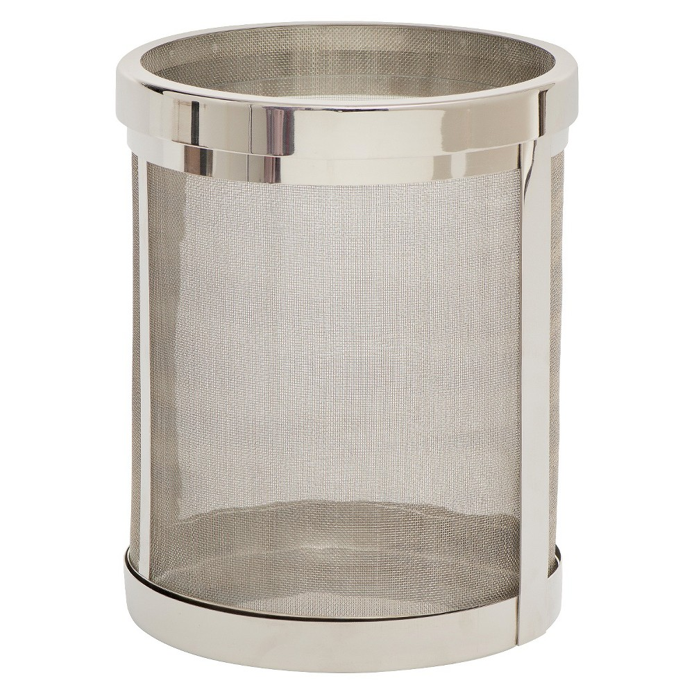 Image of Andersen Hurricane Candle Holder Chrome - Go Home, Clr/Chrm
