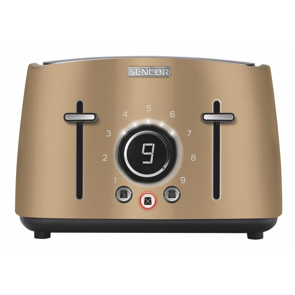 Sencor Metallic 4 Slice Toaster – Champagne (Beige) 54281266