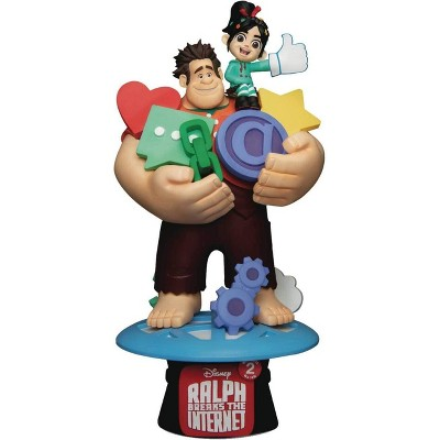 "Beast Kingdom Wreck-It-Ralph 2 Ralph with Vanellope 6"" Figure Statue"
