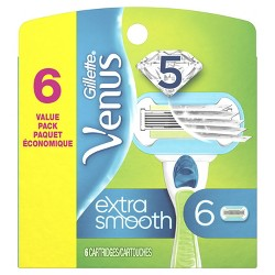 Venus Extra Smooth Women's Razor Blade Refills - 6ct