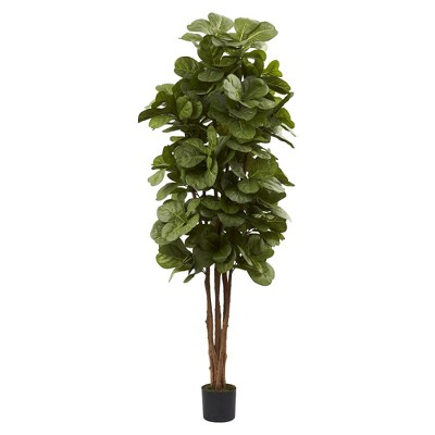 Nearly Natural 6' Fiddle Leaf Fig Tree