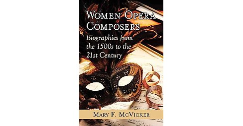 Women Opera Composers : Biographies from the 1500s to the 21st Century (Paperback) (Mary F. Mcvicker) - image 1 of 1