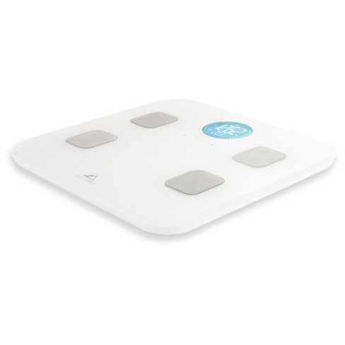Bluetooth Body Composition Scale White Weight Gurus Target - Bathroom scale target