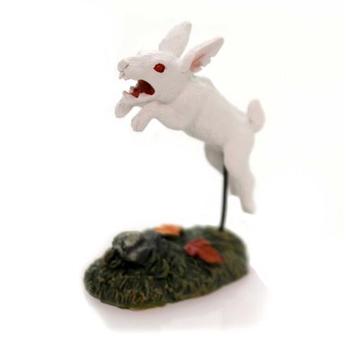 "Department 56 Accessory 2.25"" Rabid Rabbit Halloween Village Bunny - image 1 of 2"