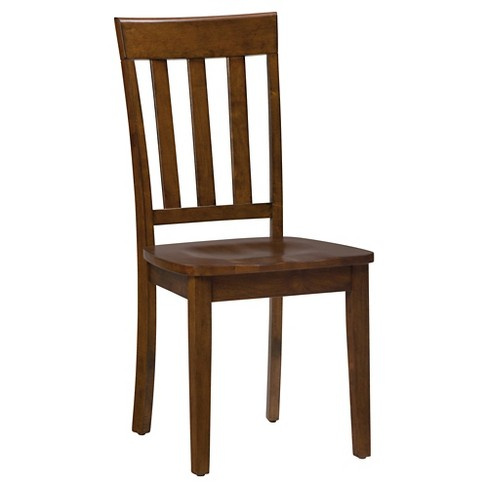 Simplicity Slat Back Dining Chair /Multiple Colors (Set of 2) - Jofran Inc. - image 1 of 4